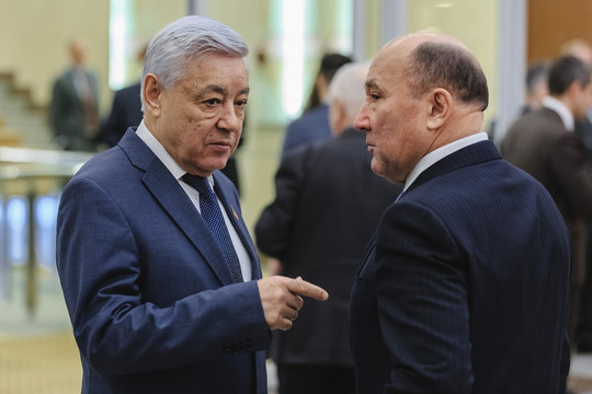 Наднях спикер республиканского парламентаФарид Мухаметшинзаявил, что видитшефа минсельхоза РТМарата Ахметованапосту своего заместителя