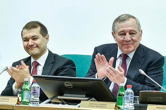 Альберт Шигабутдинов,поставив насвое место сына, сохранил фактический контроль над крупнейшей частной компанией республики