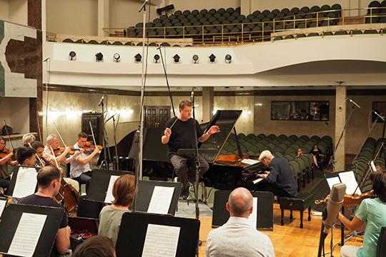 ВКазани завершилась запись полного собрания симфоний иинструментальных концертов Петра Чайковского
