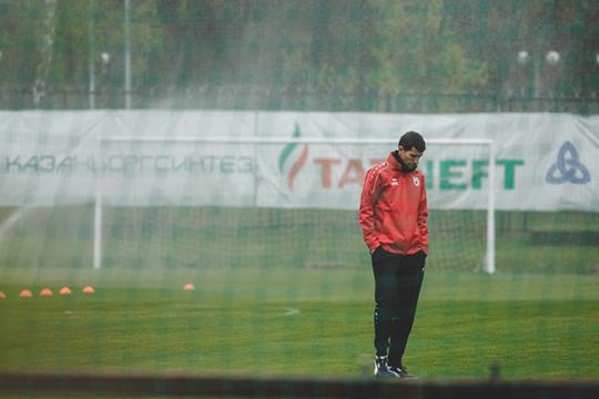 При испанце Хави Грасии команда закончила сезон 9-й, но начало чемпионата у нынешнего тренера «Уотфорда» в «Рубине» не удалось. Три ничьи в пяти матчах и ни одной победы