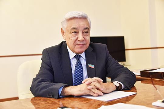 Фарид Мухаметшин – Председатель Государственного Совета Республики Татарстан, Секретарь Татарстанского регионального отделения партии «Единая Россия»