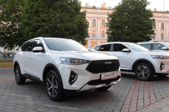 Самым резвым средикитайских автопроизводителяхоказался Haval, выросший ссимволических двух авто, проданных вТатарстане впервом полугодии2018 года до143 регистраций запервые шесть месяцев текущего года