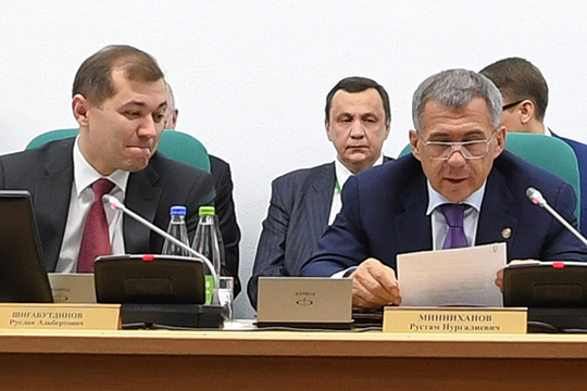 Минниахнов недослушал бравурный отчет до конца, попросив Шигабутдинова-младшего стрибуны, и жестко потребовал изменить отношение квопросам безопасности
