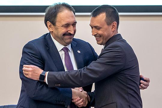 «Начиная сСафарова ниодного сбоя!»: телохранитель Минниханова стал министром