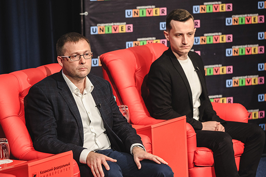 Не определился с местом размещения только «Яндекс.Маркет» — такой вывод можно было сделать по словам руководителя B2B-платформы компании Ильи Никанорова (справа)