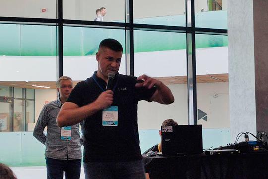 Полный зал собрало выступление генерального директора «Барс групп» Тимура Ахмерова — кейс истории успеха