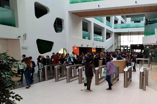 В прошлые выходные Университет Иннополиса принял выездную конференцию для IT-специалистов «Стачка». Впервые мероприятие поменяло ульяновскую прописку и прошло в Татарстане