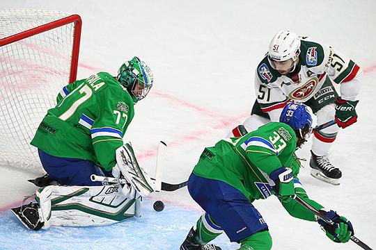 «Салават» играл как никогда в этом сезоне. Уфимцы были похожи на команду, которая в прошлом плей-офф удивляла КХЛ