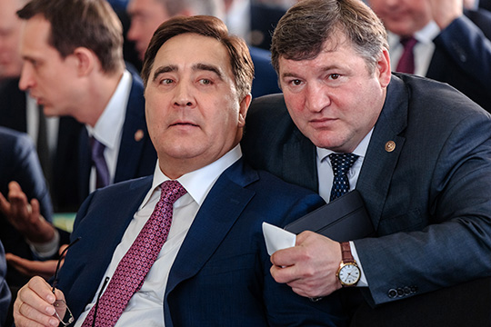 Участок площадью 76 гаслева откладбища частный, онимеет кадастровую стоимость 3,6млн рублей ипринадлежит холдингу «Агросила» Ильшата Фардиева (слева)