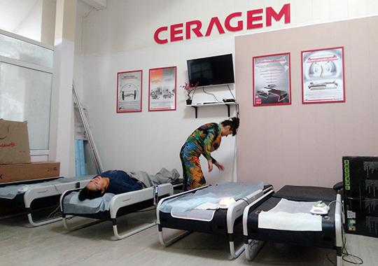 Размер инвестиций со стороны «Сераджем» исчисляется суммой в 3 млн. рублей — примерно столько стоит 10 терапевтических аппаратов «Ceragem Master V3», которыми будет оснащен реабилитационный центр