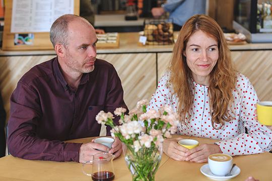 Накопив наначальный капитал, пара сначала открыла наулице Кави Наджми небольшую кофейню «Гудини», ав2017— «Жаворонок», который закороткое время стал одним изсамых популярных мест вКазани среди горожан