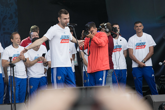 По информации «БИЗНЕС Online», Акинфеев, в самом деле, может снова оказаться в сборной России