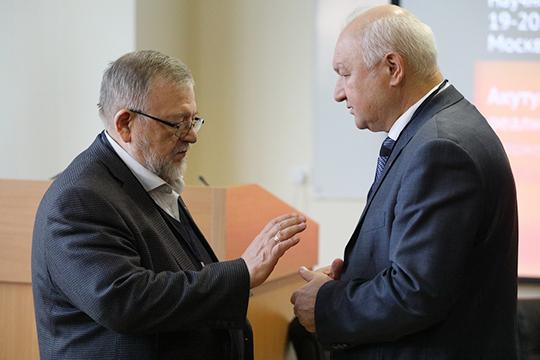 Владимир Зорин (слева): «Мы подтвердили, что многонациональный народ РФ и российская нация — синонимы»