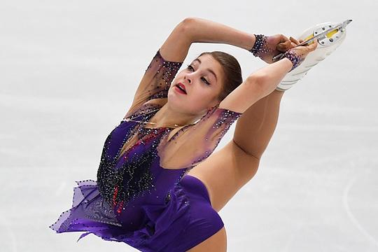 Вфинале Гран-при сенсация– победу одержала фигуристка без четверных прыжков