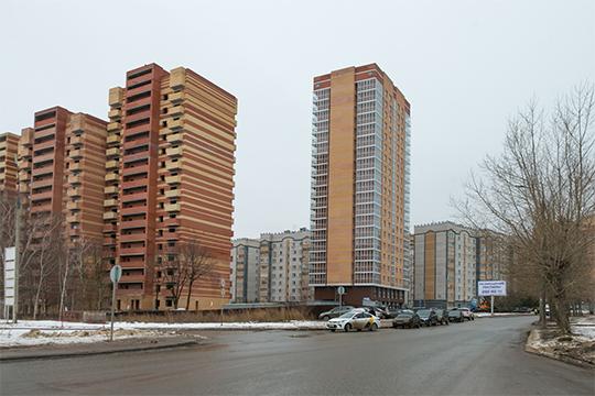 Еще один долгострой — «фоновский» дом №1в ЖК «Молодежный» на 108 квартир — сдали накануне в Казани