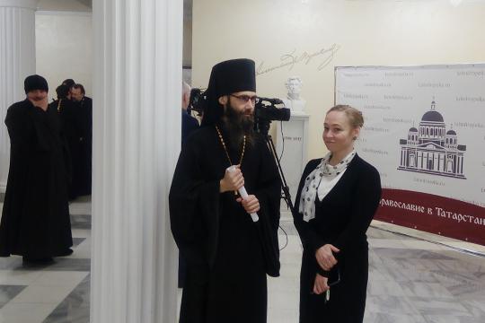 Культурный центр им.Пушкина напоминал сегодня съезд православных служителей культа