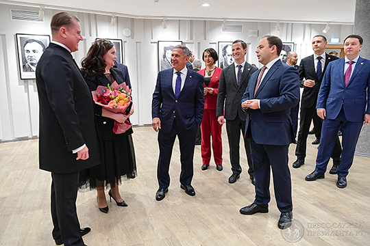 В рамках реконструкции в КЦ «Сайдаш» также открылся оперный центр Альбины Шагимуратовой. Сладковский у себя в Instagram назвал открытие центра «историческим событием»