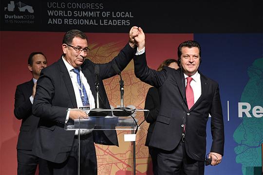 В консультативный комитет местных органов власти при ООН, который возглавил Ильсур Метшин,входит 323 тыс. городов и муниципалитетов всего мира