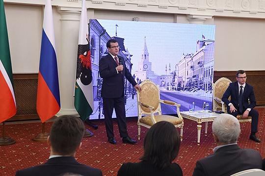 Мэр Казани Ильсур Метшин подвел итоги уходящего года на итоговой пресс-конференции в Казанской Ратуше