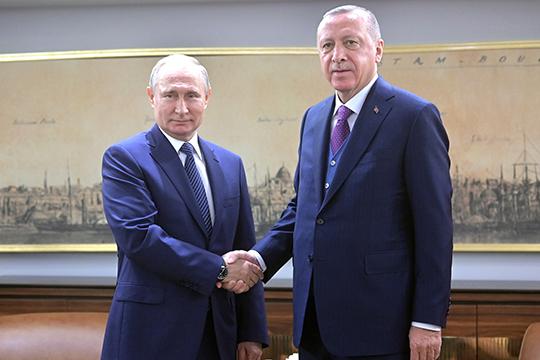 «16января Эрдоган объявил, что отправляет войска вЛивию, чтобы «поддержать стабильность легитимного ливийского правительства» имея ввиду правительство национального согласия воглаве сФайез Сарраджем»