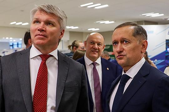 «Я не буду скрывать, что ключевой фигурой в моем назначении выступил Рустем Фидаевич Сайманов» (справа)
