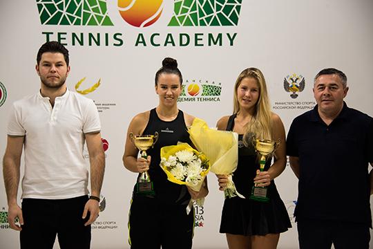 Екатерина Яшина и Анастасия Захарова