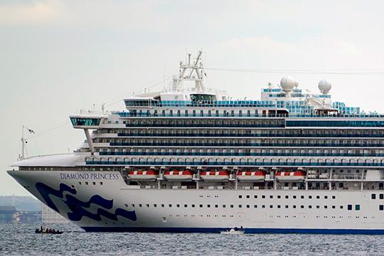 Заложником эпидемии китайского коронавируса стали пассажиры и экипаж круизного лайнера Diamond Princess. По данным японских властей, корабль вышел из порта Йокогамы 20 января, а вернулся обратно 3 февраля
