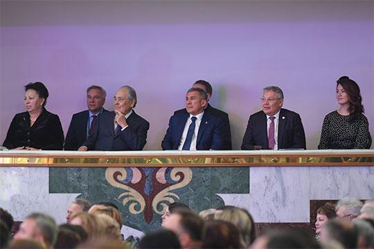Что касается официальной части мероприятия, то новый министр образования РТРафис Бургановкоротко поблагодарил президента за уделяемое отрасли внимание