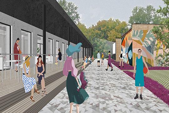 Реновация «Нура»: крыша для йогов и площадка для молодых мам
