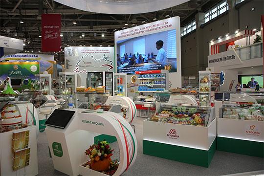 Как всегда, на стенде Татарстана разместилась самая разнообразная продукция