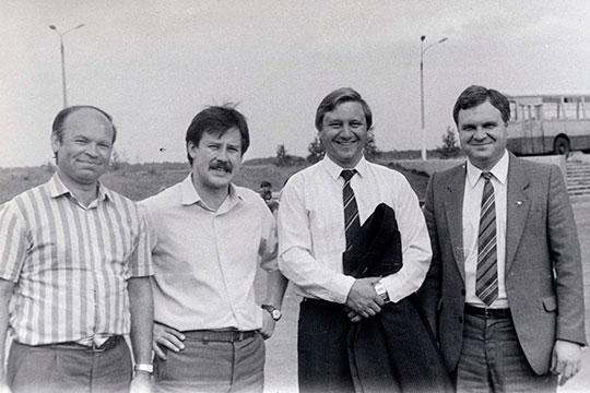 Справа налево: АндрейЕршов, Дамир Шаяхметов, Мурад Гадыльшин
