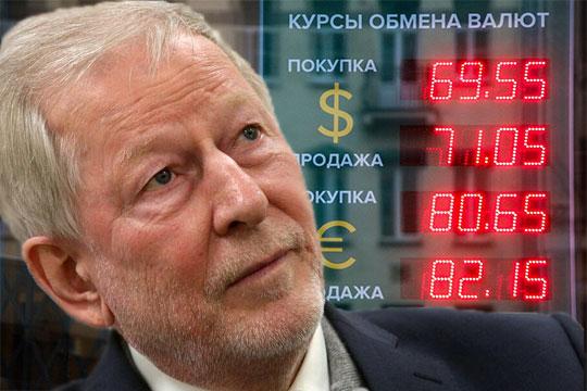 Иван Грачев: «Недолирики пугают скачком рубля до90–110 задоллар вдекабре…»