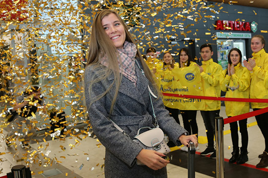 В конце прошлой недели Казань посетил трехмиллионный турист – им стала 25-летняя москвичкаДарья Чепур