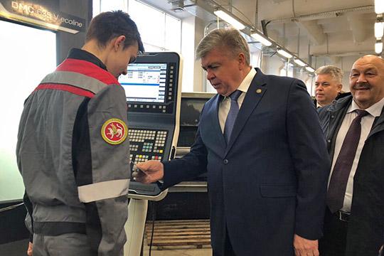 Наиль Магдеев: «Мыдолжны нарастить количество рабочих мест на21 тысячу»