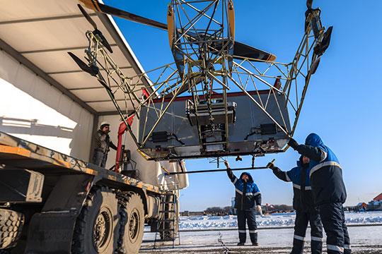 «Мыразвернем целую индустрию»: под Казанью подняли ввоздух «аэротрактор»