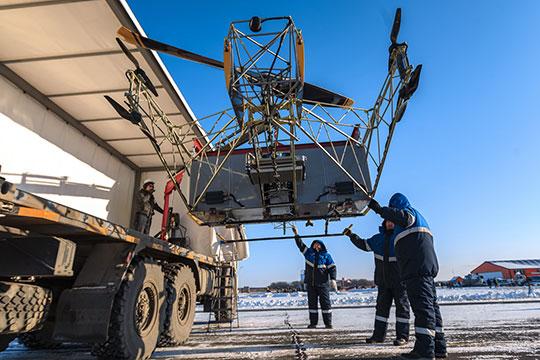 Вданном случае перед нами— воздушный трактор. Именно так определил концепцию проекта его идеолог, 26-летнийДмитрий Арсентьев