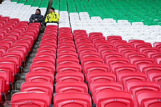 Нефутбол, аиздевательство: пока «Рубин» с«Динамо» мучились,болельщики страдали