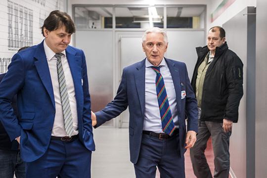 Николай Цулыгин и Зинэтула Билялетдинов
