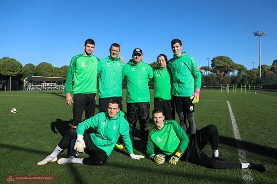 Вратари и тренеры «Рубина»