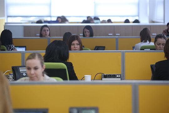 «Унас ежегодно работают порядка 100 студентов вкачестве стажеров»