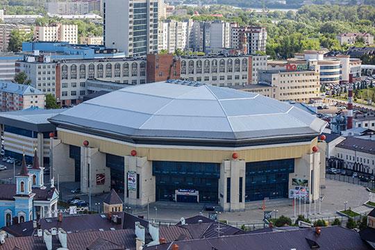 Капитальный ремонт «Баскет-холла» запланированный на2019 год, обойдется казне РТв86млн рублей