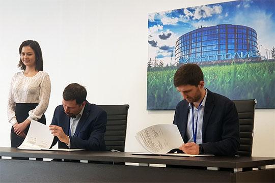ОЭЗ и мэрия города Иннополис подписали меморандум о намерениях с международным отраслевым инкубатором аэротакси McFly