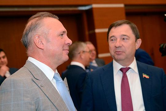 Вторым по богатству депутатом оказался Вячеслав Зубарев (слева).На третье место вырвался Сергей Рачков (справа)