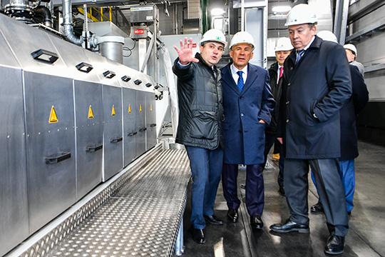 Минниханов– КОСу: «Миллион тонн– это сложная задача, ноничего…»