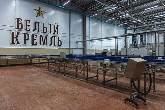 В Чистополе туристов ждут для экскурсии по открытому недавно пивоваренному заводу «Белый Кремль»