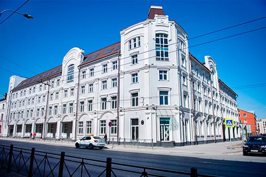Созданное в2004 году ООО«Туристический центр «Казанский» строило наулице Московской вКазани пятиэтажный гостинично-развлекательный комплекс сдвухуровневой подземной парковкой