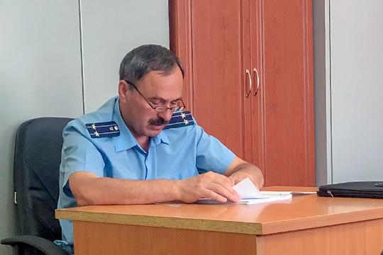 Степану Спиридонову потребовалось 20 минут, чтобы огласить обвинение Гатина