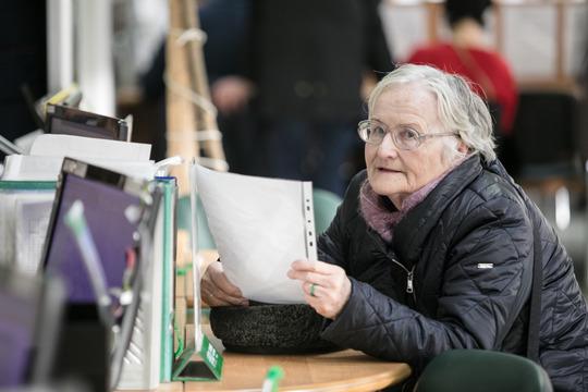 «Кнам каждый день приходят будущие пенсионеры, имыдолжны проверить иподтвердить ихстаж...Мыначинаем формировать пенсионное дело загод довозникновения права»