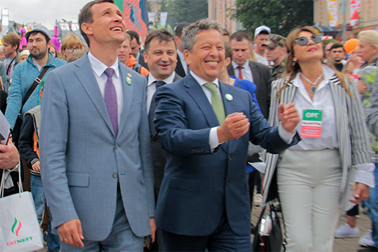 Наиль Маганов: «Неудивительно, что такие эффективные, энергичные менеджеры востребованы и на уровне руководства республики»
