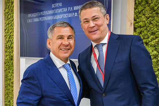 Минниханов – Хабирову: «Если горит твой сосед, то и мы загорим!»